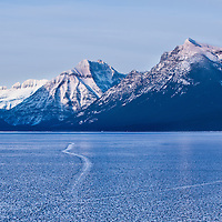 Winter GNP Lake McDonald