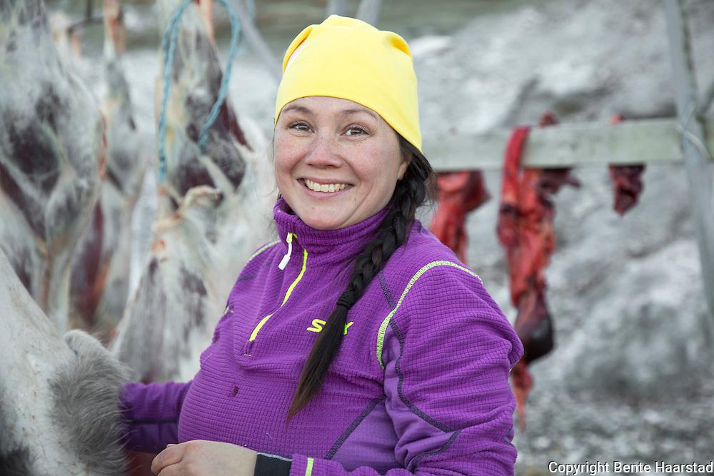 Ellinor Marita Jåma, leder i norske reindriftssamers landsforbund, NRL.