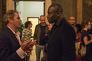 CHRIS OFILI, Okwui Enwezor and Vinyl Facorty hosted party at Ca'Sagredo, Campo Santa Sofia Venice Biennale, Venice. 5 May 2015