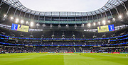 General view inside the Tottenham Hotspur Stadium during the Champions League Quarter-Final 1st leg between Tottenham Hotspur and Manchester City at Tottenham Hotspur Stadium, London, United Kingdom on 9 April 2019.