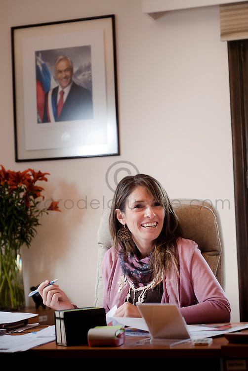 Maria Francisca Correa, Vicepresidenta Ejecutiva de la Junta Nacional de Jardines Infantiles, JUNJI. Santiago de Chile, 20-04-2012.(©Alvaro de la Fuente/TRIPLE)