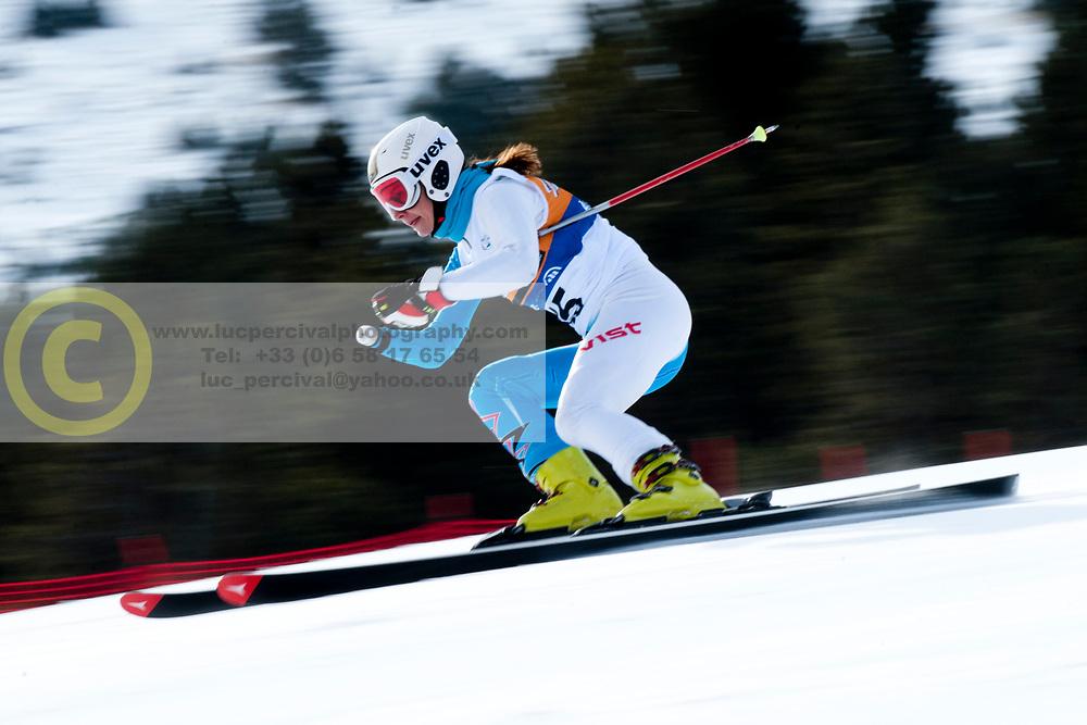PAPULOVA Mariya, RUS, Super Combined, 2013 IPC Alpine Skiing World Championships, La Molina, Spain