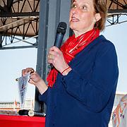 NLD/Amsterdam/20180503 - Beste Vriend Andere Tijden Sport en Olympisch Stadion, Carla de Groot directeur van het Olympisch Stadion in Amsterdam