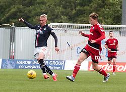 Falkirk's Craig Sibbald. Falkirk 2 v 0 Ayr, Scottish Championship game played 24/9/2016 at The Falkirk Stadium .