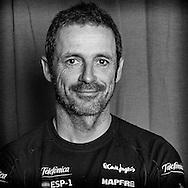 PORTUGAL, Lisbon. 31st May 2012. Volvo Ocean Race, Leg 7 (Miami-Lisbon) finish. Jordi Calafat, Helmsman/Trimmer, Team Telefonica.