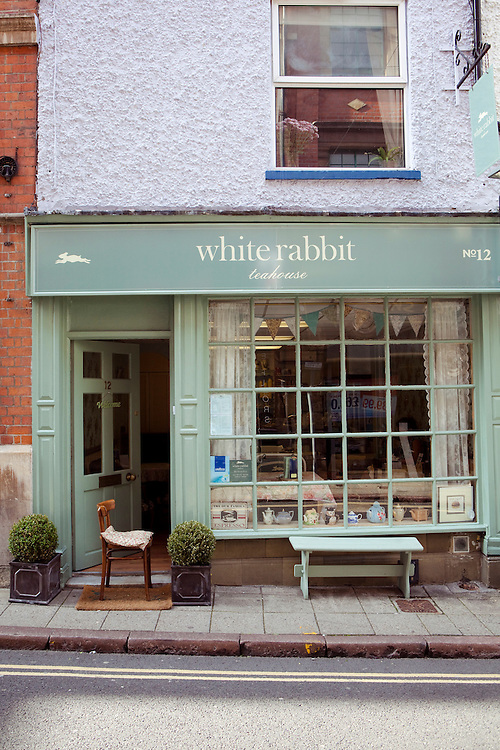 White Rabbit teahouse, Nottingham