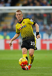 Ben Watson of Watford in action  - Mandatory byline: Jack Phillips/JMP - 07966386802 - 7/11/2015 - SPORT - FOOTBALL - Leicester - King Power Stadium - Leicester City v Watford - Barclays Premier League