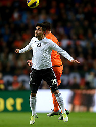 14-11-2012 VOETBAL: NEDERLAND - DUITSLAND: AMSTERDAM<br /> Friendly match Netherlands - Germany in Amsterdam Arena / Iikay Gundogan<br /> ©2012-FotoHoogendoorn.nl