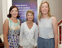 Caroline Miney Ulster Bank with Norah and Rachel Stewart