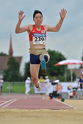 04/08/2017; Tozawa, Tomomi, T42, JPN at 2017 World Para Athletics Junior Championships, Nottwil, Switzerland