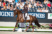 Larissa Paulis - First Step Valentin<br /> Longines FEI/WBFSH World Breeding Dressage Championships for Young Horses 2017<br /> © DigiShots