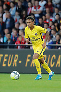 Neymar da Silva Santos Junior - Neymar Jr (PSG) during the French championship L1 football match between EA Guingamp v Paris Saint-Germain, on August 13, 2017 at the Roudourou stadium in Guingamp, France - Photo Stephane Allaman / ProSportsImages / DPPI