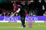 George Bartlett of Somerset batting during the Royal London 1 Day Cup Final match between Somerset County Cricket Club and Hampshire County Cricket Club at Lord's Cricket Ground, St John's Wood, United Kingdom on 25 May 2019.