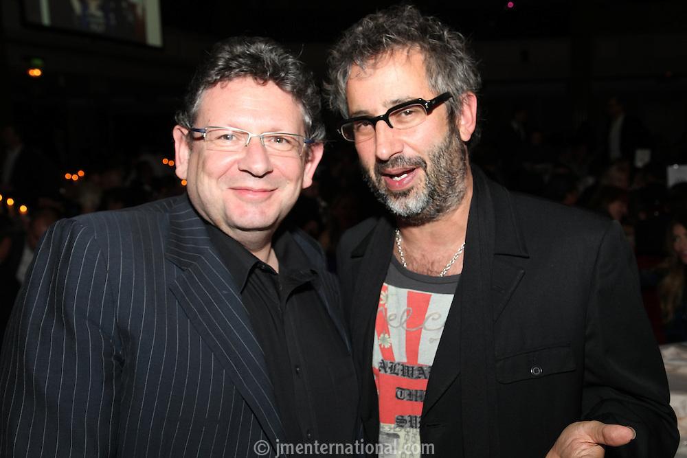 Lucian Grainge and David Baddeil
