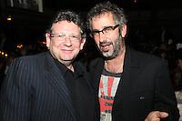 Lucian Grainge and David Baddeil