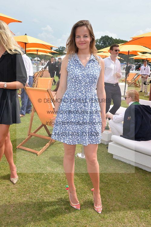 ALICE DAWSON at the Veuve Clicquot Gold Cup Final at Cowdray Park Polo Club, Midhurst, West Sussex on 20th July 2014.