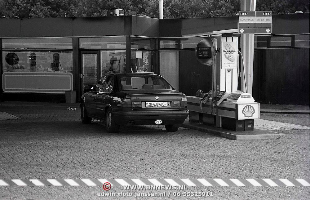 NLD/Amersfoort/19910914 - Overval Shellpomp A1 de Slaag Amersfoort, 1 persoon neergeschoten