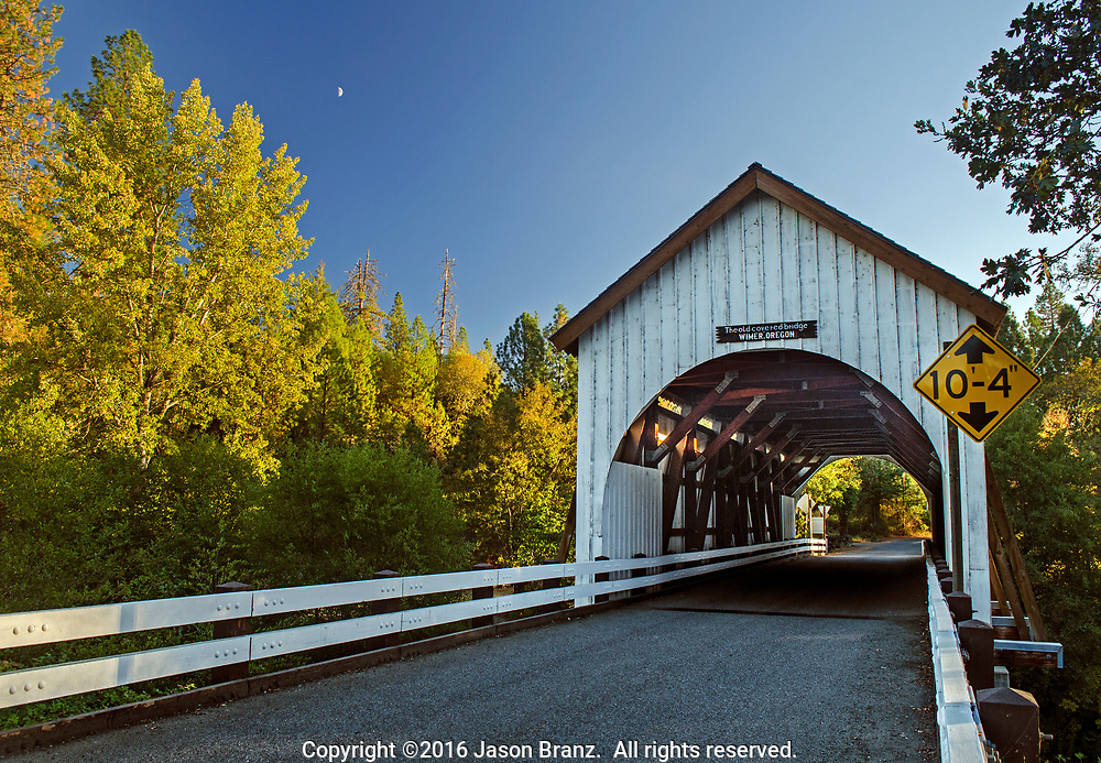 Wimer Bridge, Jackson County, Oregon
