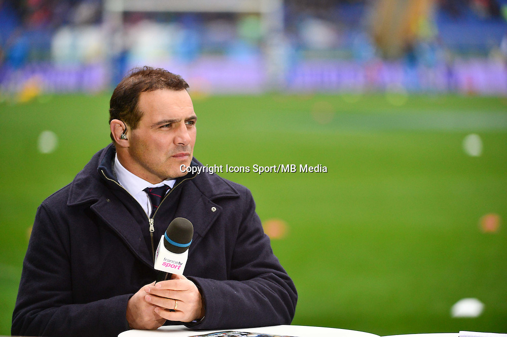 Raphael IBANEZ - 15.03.2015 - Rugby - Italie / France - Tournoi des VI Nations -Rome<br /> Photo : David Winter / Icon Sport