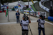 at the 2018 UCI BMX World Championships in Baku, Azerbaijan.