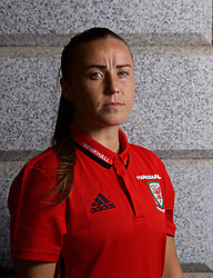 ASTANA, KAZAKHSTAN - Saturday, September 16, 2017: Wales' Natasha Harding poses for a portrait in Astana ahead of the FIFA Women's World Cup 2019 Qualifying Round Group 1 match against Kazakhstan. (Pic by David Rawcliffe/Propaganda)