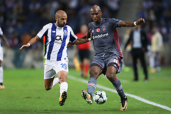 September 13, 2017 - Porto, Porto, Portugal - Besiktas' midfielder Atiba Hutchinson (R) in action with Porto's Portuguese midfielder Andre Andre (L) during the FC Porto v Besiktas - UEFA Champions League Group G round one match at Dragao Stadium on September 13, 2017 in Porto, Portugal. (Credit Image: © Dpi/NurPhoto via ZUMA Press)