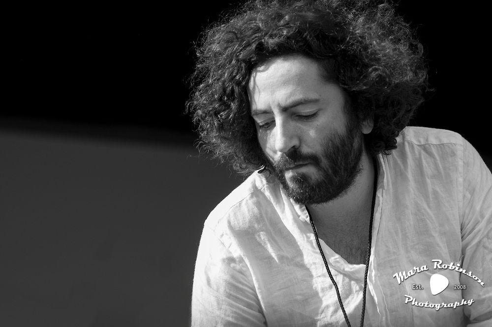 Dan Bejar of Destroyer at Pitchfork Music Festival 2011