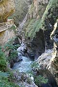 Austria, Salzburg, Liechtensteinklamm gorge in St. Johann im Pongau,