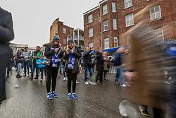 Chelsea fans arrive at Stamford Bridge - Mandatory by-line: Jason Brown/JMP - 04/01/2017 - FOOTBALL - Stamford Bridge - London, England - Chelsea v Arsenal - Premier League