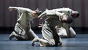 Boy Blue Entertainment <br /> Blak Whyte Gray <br /> at The Barbican Theatre, London, Great Britain <br /> press photocall / rehearsal <br /> 11th January 2016 <br /> <br /> Whyte <br /> Ricardo Da Silva <br /> Gemma Kay Hoddy <br /> Dickson Mbi <br /> <br /> <br /> <br /> Photograph by Elliott Franks <br /> Image licensed to Elliott Franks Photography Services