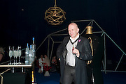 JEAN-PAUL GAULTIER, Grey Goose character and cocktails. The Elton John Aids Foundation Winter Ball. off Nine Elms Lane. London SW8. 30 October 2010. -DO NOT ARCHIVE-© Copyright Photograph by Dafydd Jones. 248 Clapham Rd. London SW9 0PZ. Tel 0207 820 0771. www.dafjones.com.