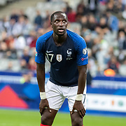PARIS, FRANCE - September 10:  Moussa Sissoko #17 of France during the France V Andorra, UEFA European Championship 2020 Qualifying match at Stade de France on September 10th 2019 in Paris, France (Photo by Tim Clayton/Corbis via Getty Images)