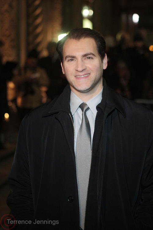 12 January 2010-New York, NY- Michael Stuhlbarg at The National Board of Review of Motion Pictures Awards Gala (Outside Arrivals) held at Cipriani 42nd Street on January 12, 2010 in New York City. Photo Credit: Terrence Jennings/Sipa