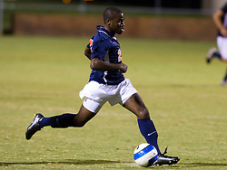 Virginia Cavaliers forward Chris Agorsor (20) in action against Hofstra.  The Virginia Cavaliers defeated the Hofstra Pride 4-2 in NCAA men's soccer at Klockner Stadium on the Grounds of the University of Virginia in Charlottesville, VA on September 7, 2008