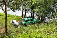 Área de lazer na fronteira entre Brasil e Argentina. Itapiranga, Santa Catarina, Brasil. / <br /> Leisure area on the border between Brazil and Argentina. Itapiranga, Santa Catarina, Brazil.