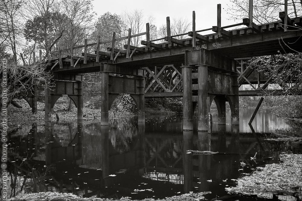 Old Rail Bridge, Mill Street, West Branch, Pittsfield, MA