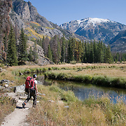 East Inlet Trail to Lake Verna and Lone Pine Lake, Rocky Mountain National Park, Colorado.  Sept 2009.  (Photo/William Byrne Drumm)