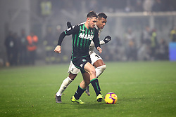 """Foto Filippo Rubin<br /> 10/02/2019 Reggio Emilia (Italia)<br /> Sport Calcio<br /> Sassuolo - Juventus - Campionato di calcio Serie A 2018/2019 - Stadio """"Mapei Stadium""""<br /> Nella foto: POL LIROLA (SASSUOLO)<br /> <br /> Photo Filippo Rubin<br /> February 10, 2019 Reggio Emilia (Italy)<br /> Sport Soccer<br /> Sassuolo vs Juventus - Italian Football Championship League A 2018/2019 - """"Mapei Stadium"""" Stadium <br /> In the pic: POL LIROLA (SASSUOLO)"""
