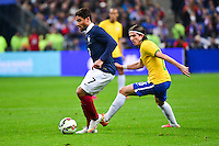 Nabil FEKIR / Filipe LUIS - 26.03.2015 - France / Bresil - Match Amical<br />