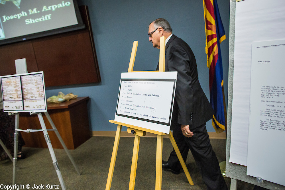 Maricopa County Sheriff Calls President\'s Birth Certificate a Fraud ...