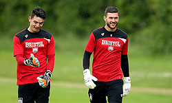 Max O'Leary and Richard O'Donnell of Bristol City walk out to take part in Pre-Season Training ahead of the Sky Bet Championship Season - Mandatory by-line: Robbie Stephenson/JMP - 29/06/2016 - FOOTBALL - Bristol City Training Ground - Bristol, United Kingdom - Bristol City - Bristol City Pre-Season Training