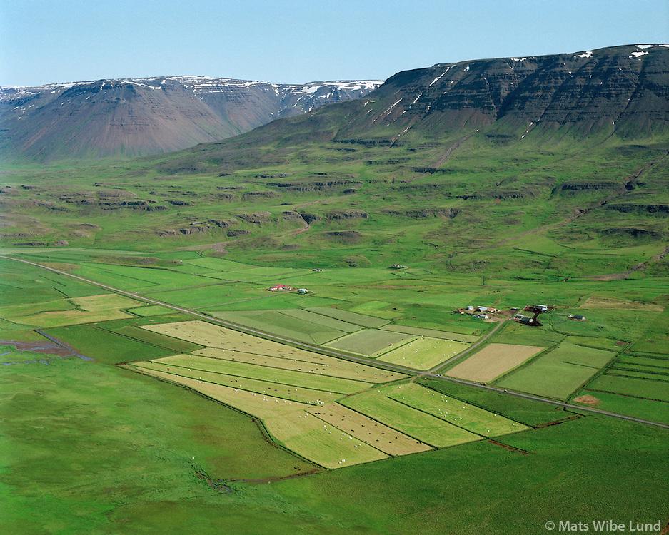 Hjalli, Hjaltastaðir, Grænamyri og Hjaltastaðahvammur, Akrahreppur..Hjalli, Hjaltastadir, Graenamyri og Hjaltastadahvammur, Akrahreppur