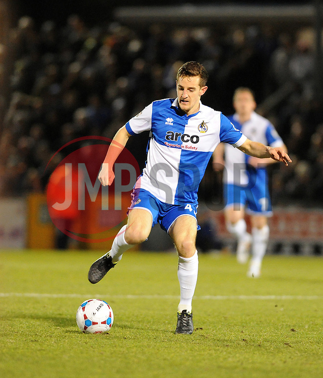 Bristol Rovers' Tom Lockyer - Photo mandatory by-line: Neil Brookman/JMP - Mobile: 07966 386802 - 24/02/2015 - SPORT - Football - Bristol - Memorial Stadium - Bristol Rovers v Braintree - Vanarama Football Conference