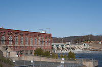 Spring High Water, Connecticut River, Vernon Dam, VT.