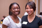 19004Legacy 2008 Recognition & Awards Ceremony in Baker Center 7/31/08: Templeton Scholars, Urban Scholars, and Appalachian Scholars...Habibat Saheeb and Jesse Raney