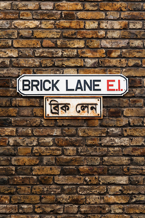 Brick Lane Street Sign