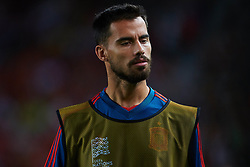 September 11, 2018 - Elche, Alicante, Spain - during the UEFA Nations League football match between Spain and Croatia at Martinez Valero Stadium in Elche on September 11, 2018  (Credit Image: © Sergio Lopez/NurPhoto/ZUMA Press)