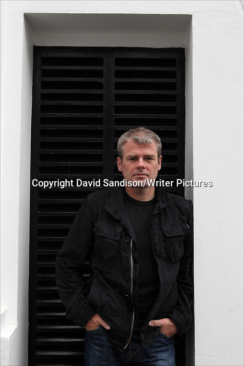 Mark Haddon, English writer, novelist and poet, photographed in London 23rd April 2012<br /> <br /> Picture by David Sandison/Writer Pictures<br /> <br /> WORLD RIGHTS