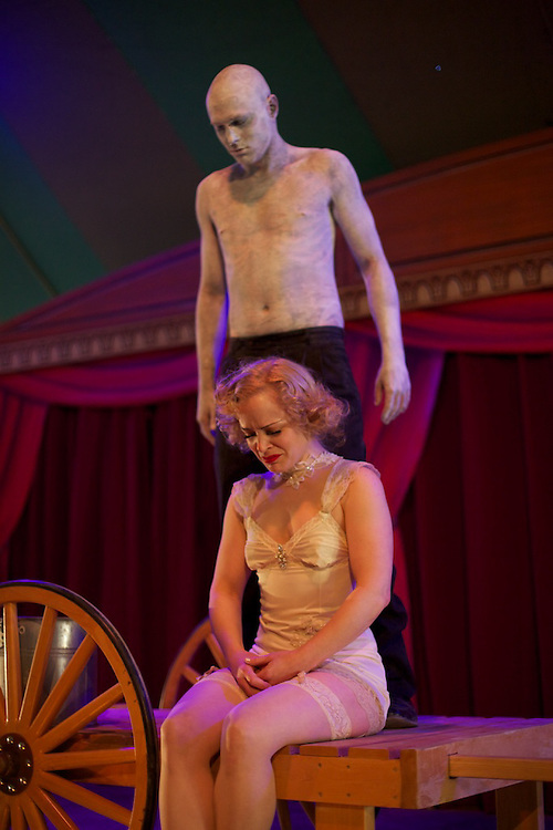 Carnivale Lune Bleue presents Sideshow: Alive On The Inside in Bromont, Quebec