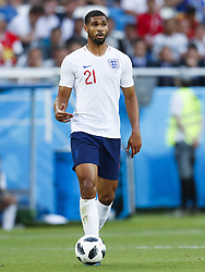 Ruben Loftus-Cheek of England during the 2018 FIFA World Cup Russia group G match between England and Belgium at the Kalingrad stadium on June 28, 2018 in Kaliningrad, Russia